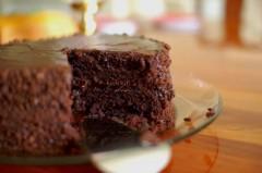 torta di castagne e cioccolato 209891455